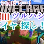 鈴原るるの【Minecraft(マインクラフト)】幸運ダイヤでダイヤ探し&戦闘強化するるッ!![2019/11/16]