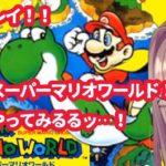 鈴原るるの【スーパーマリオワールド】初見プレイ!ザ!ワールドッ…!!!!!![2020/01/24]