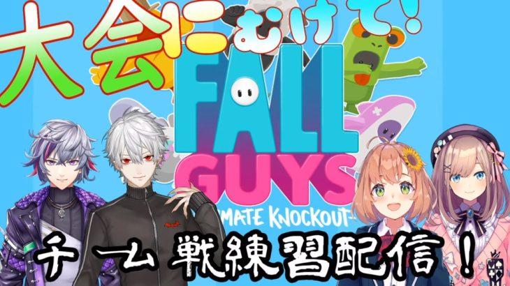 鈴原るるの【Fall Guys】大会にむけててーむ練習だッ!!【くるみわりコラボ】[2020/09/23]