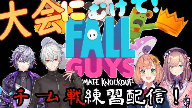 狙えクラウン!鈴原るるの【Fall Guys】大会にむけててーむ練習だッ!【くるみわりコラボ】[2020/09/28]