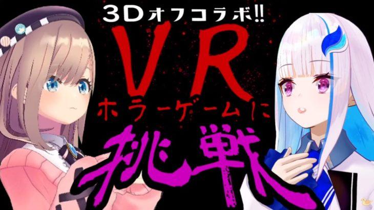 最高品質!【#リゼるる】3DコラボでVRホラゲーに挑戦する……?!【オフコラボ】[2020/09/29]